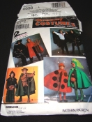 Simplicity 0698 Halloween Costume Sewing Pattern - Kids