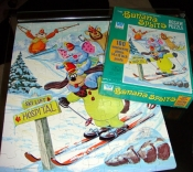 Vintage 70s Toy TV Show Bannana Splits Puzzle - Complete $5