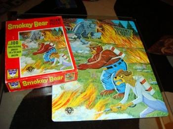 Smokey Bear Puzzle - Complete $5