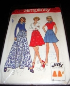 6789 Simplicity Easy Skirt Pattern SM - Cut condition