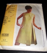 8927 Bill Blass New York Designers' Collection Plus Sewing Pattern