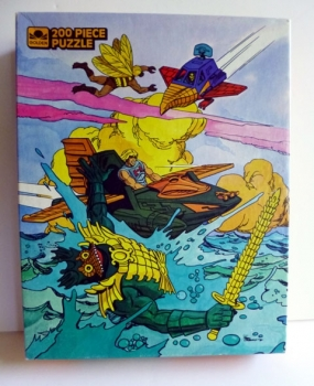 Vintage 80s Game Puzzle Toy Masters of the Universe Featuring He Man