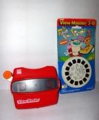 Vintage View Master with Unopened Ren and Stimpy Reels