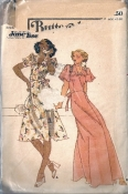 Butterick 4100 70s Jane Tise Sweet Baby Jane Wrap Dress Size 10