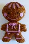 Avon Gingerbread Pin Pal 1972 Pin NIB