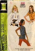 Butterick 2108 from 1969