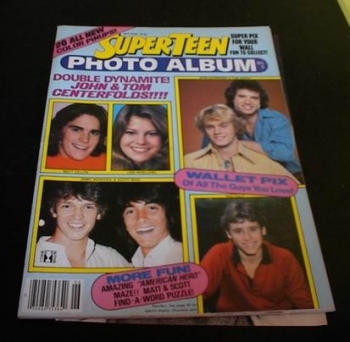 Super Teen Magazine 1981 Dukes of Hazzard Centerfold