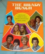 The Brady Bunch Coloring Book from Whitman - 70s