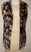 60s Multicolor Tapestry Vest