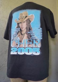 Cher 2005 Concert Shirt XL