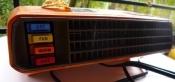 Heatwave Space Age Heater 70s Mid-Century Modern Housewares