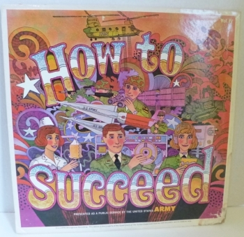How to Succeed in the Army- PSA Record Album RARE