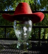 Kid's Red Stetson Cowboy Hat Youth Fit SM