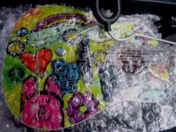 "Mini Fender Guitar - NAMM 2010 Promo Item ""Peace Tea"""