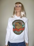 80s Vintage Moosehead Beer Sweatshirt Advertising Brand UNWORN