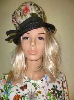 Mad Hatter 50s Floral Vintage Hat