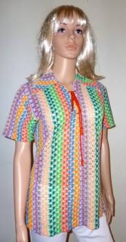 70s Vintage Rainbow Shirt - Pride