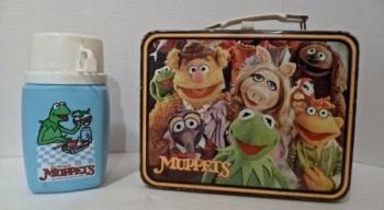 Muppet Show 70s Metal Lunchbox Fozzie Bear