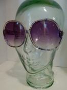 70s 80s Sunglasses Vintage Purple Color