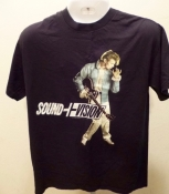 David Bowie 90s Concert T Shirt Sound and Vision Tour