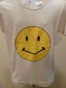 80s Vintage T - Shirt Smile Face Yuck Face