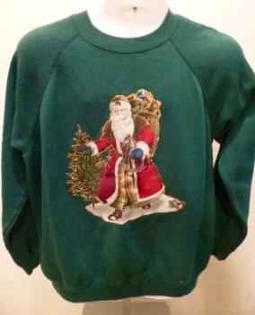 Christmas Sweatshirt Father Christmas Santa Clause