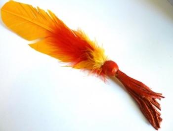 Sunshine Feather Smudge Wand
