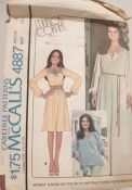 McCall's 4887 Sewing Pattern Marlo's Corner 32.5 Size 10