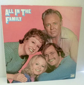 All in the Family Record Album 1971 Excellent Condition with Insert