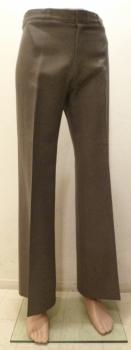 Men's 70s Disco Slacks Pants Angel's Flight Pinstripe Light Brown Waist 32