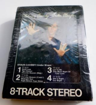 Sean Cassidy 8 Track - Under Wraps - Sealed!