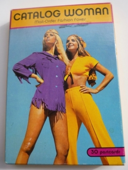 """70s Women featured in """"Catalog Woman Postcard Set"""" - Out of Print Collectible Postcards featuring Vintage Catalog Photos"""