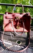 Genuine Micheal Kors Hamilton Bag Brown