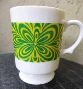 1960s Mid-Century Cup Coffee Mug - 8 OZ.