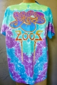 Yes 2005 Liquid Blue Tie Dye T-Shirt New With Tags