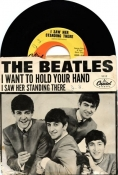 Beatles 45 Picture Sleeve I Saw Her Standing There - I Wanna Hold Your Hand Capitol Records