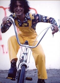 Bell Bottom Painter's Disco 70s Vintage Jumpsuit Orange Crush