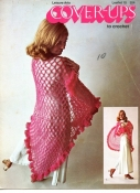 Cover-Ups to Crochet Leisure Arts Leaflet 15 70s Vintage Pattern