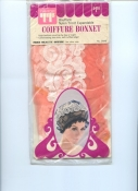 Vintage 60s Beauty Curler Cap and Beauty Tips Booklet